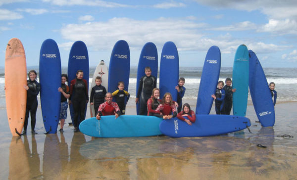 Kids Surf Lesson in Clare