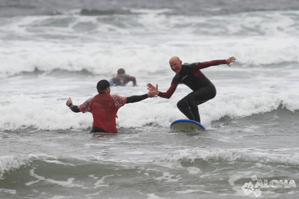 Surfing as a fun family activity
